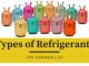 Types of Refrigerants