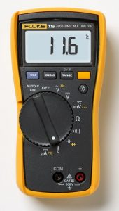 Fluke 116/323 HVAC Multimeter