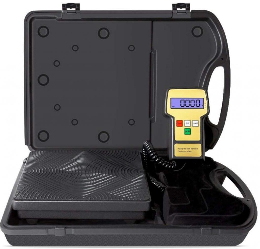 VIVOHOME Digital Refrigerant Charging Weight Scale for HVAC 220LB
