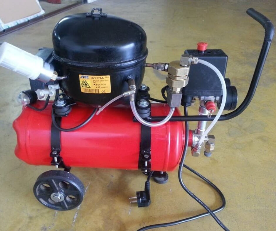 vacume pump with compressor