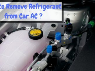 How to Remove Refrigerant from Car AC?