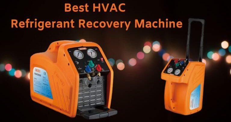 Best HVAC Refrigerant Recovery Machine