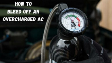 How to Bleed Off an Overcharged AC (1)