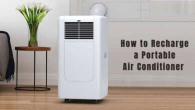 How to recharge a portable air conditioner (1)
